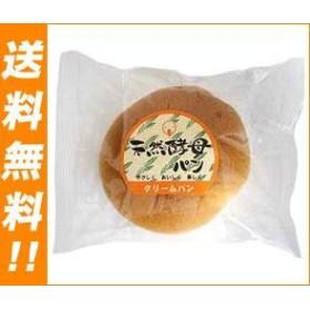 【送料無料】 天然酵母パン  クリームパン  12個入