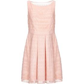 《セール開催中》SOANI レディース ミニワンピース&ドレス ピンク 46 ポリエステル 100%