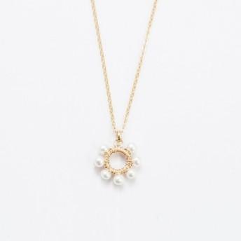 あなたの真珠のネックレスを信じてくださいあなたの愛のネックレスに従ってください/ 14kgf
