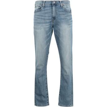 《9/20まで! 限定セール開催中》POLO RALPH LAUREN メンズ ジーンズ ブルー 33W-34L コットン 99% / ポリウレタン 1% Sullivan Slim Stretch Jean