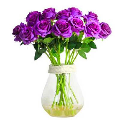 【單支模擬玫瑰花-陽光玫瑰-長約52cm-5枝-套-1套】假花乾花擺件家居裝飾品)-5170852