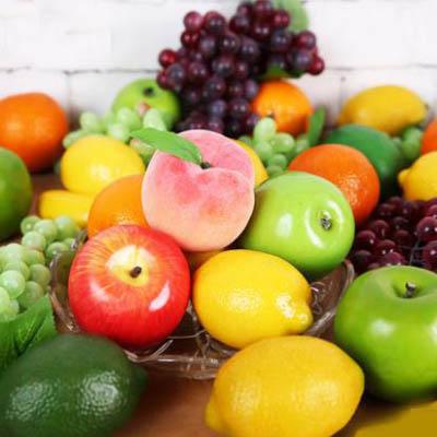 【輕型模擬蔬果-直徑18-22x-2款可選-1個】假水果蔬果啟蒙模型攝影道具-5170852