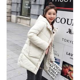 2018秋冬/綿服/ロング ダウンコート ダウンジャケット 韓国ファッション レディース 冬新作 アウター