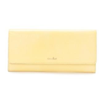 airlist エアリスト バレエ 薄型長財布 財布,イエロー