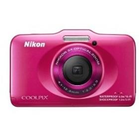 Nikon デジタルカメラ COOLPIX S31 防水5m 耐衝撃1.2m ピンク S31PK 中古 良品