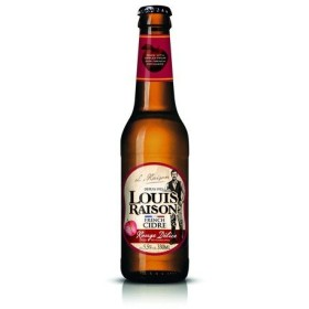 ルイ レゾン ルージュデリス 330ml/瓶 Louis Raison Rouge Delice サイダー 甘味果実酒 フランス 1ケース販売:24本入り