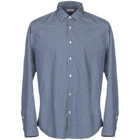 《期間限定セール開催中!》ALTEA メンズ シャツ ブルーグレー 45 コットン 100%