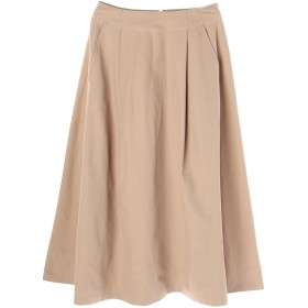 08sircus ピーチツイルスカート ひざ丈スカート,beige
