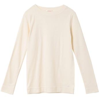 a mong gout シュクレフライスモックネック Tシャツ・カットソー,アイボリー