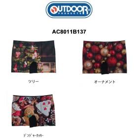 (SALE)OUTDOOR(アウトドア)シームレス ボクサーパンツ ユニセックス クリスマス AC8011B137