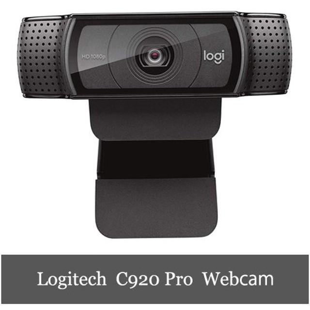Logitech C920 HD Pro Webcam ロジテック プロ ウェブカム Webカメラ フルHD1080p 1年保証輸入品