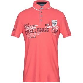 《セール開催中》IMPULSO メンズ ポロシャツ コーラル 46 コットン 100%