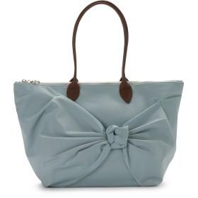 LANVIN en Bleu(BAG) LANVIN en Bleu シャルロット 肩掛けトートバッグ トートバッグ,ダスティー