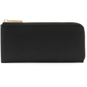 THE PITH THE PITH / ザピス LONG L-ZIP WALLET w/ LP 財布,BLACK