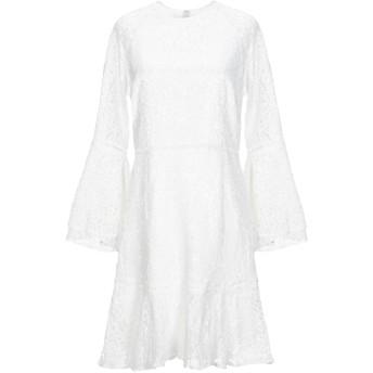 《セール開催中》BY MALINA レディース ミニワンピース&ドレス ホワイト XL ポリエステル 100%