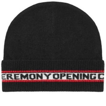 オープニングセレモニー 帽子 ハット キャップ メンズ【Opening Ceremony Logo Beanie】Black