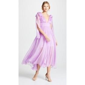 マリア ルーシア ホーハン ドレス マキシドレス レディース【Maria Lucia Hohan Rowen Dress】Fiesta Lilac