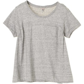 FilMelange フィルメランジェ/アニー コットンTシャツ Tシャツ・カットソー,グレー