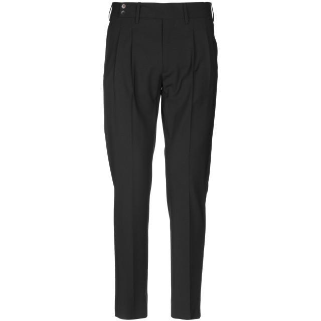 《セール開催中》ENTRE AMIS メンズ パンツ ブラック 33 バージンウール 98% / ポリウレタン 2%