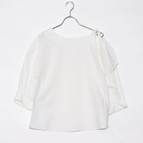 イーブス サプライ YEVS supply 綿ブロードワンショルダーBL (ホワイト)