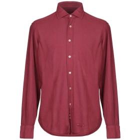 《セール開催中》TINTORIA MATTEI 954 メンズ シャツ ガーネット 39 100% コットン