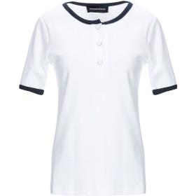 《期間限定 セール開催中》VANESSA SEWARD レディース T シャツ ホワイト 36 コットン 100%
