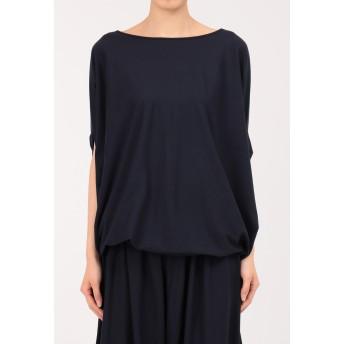 Rawtus ロータス / サイドドレープTシャツ Tシャツ・カットソー,ネイビー