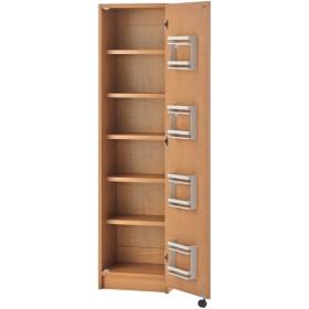 頑丈棚板キッチンストッカー 45cm幅 GK-45(ライトブラウン) 幅45×奥行40×高さ180cm キッチン収納