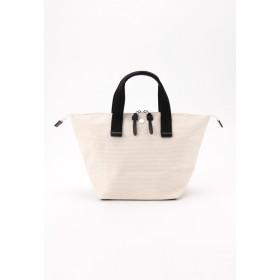 CaBas CaBas N°33 Bowlerbag small ハンドバッグ,ホワイト/ブラック