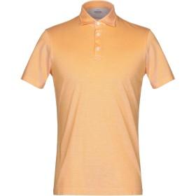《期間限定 セール開催中》ALESSANDRO GHERARDI メンズ ポロシャツ オレンジ S コットン 100%
