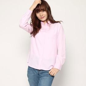 リネーム Rename オックスレギュラーシャツ (ピンク)
