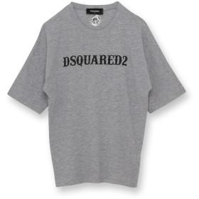DSQUARED2 クルーネック プリントTシャツ Tシャツ・カットソー,トップグレー