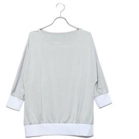 フィラ FILA 【FILA】ヨガウェア ドルマンスリーブTシャツ (LGY)