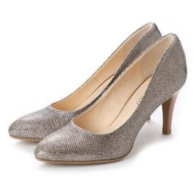 アンタイトル シューズ UNTITLED shoes パンプス (ゴールドメタリックファブリック)