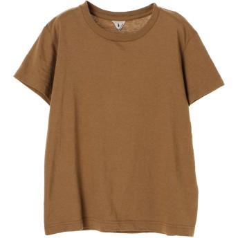 FilMelange フィルメランジェ/ジェームス クルーTシャツ Tシャツ・カットソー,ブラウン