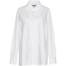 《期間限定セール開催中!》RALPH LAUREN COLLECTION レディース シャツ ホワイト 8 コットン 100%