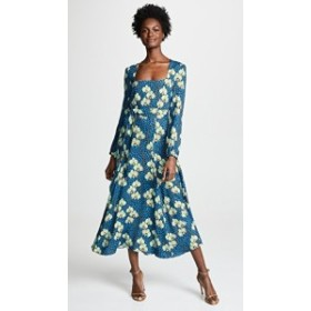ボルゴデノール ドレス 長袖 レディース【Borgo de Nor Annabella Dress】Turquoise Multi