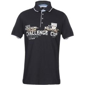 《セール開催中》IMPULSO メンズ ポロシャツ ダークブルー 46 コットン 100%