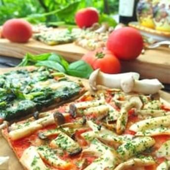手作り綾町産野菜天然酵母ピザセット