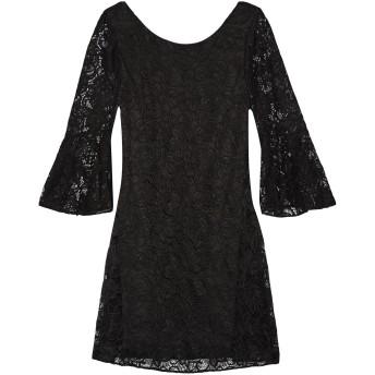 《セール開催中》BADGLEY MISCHKA レディース ミニワンピース&ドレス ブラック S ポリエステル 100%