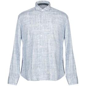 《期間限定 セール開催中》TINTORIA MATTEI 954 メンズ シャツ ブルー 40 コットン 100%