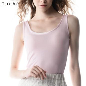 GUNZE グンゼ Tuche(トゥシェ) 【着るコスメ】タンクトップ(レディース)【SALE】 オフホワイト M