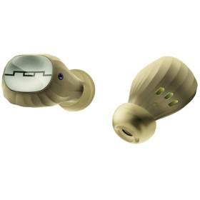 フルワイヤレスイヤホン AMPS AIR 2.0 シャンパン SOL-AMPS-AIR2CA [リモコン・マイク対応 /ワイヤレス(左右分離) /Bluetooth]