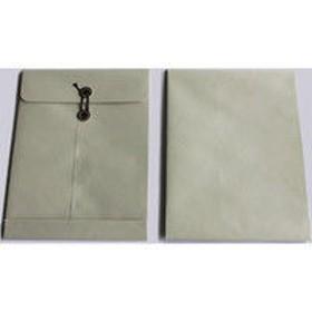 山櫻 ECカラー保存袋 角2 保存袋 ECグレイ 130 T 00566494 1箱(100枚入)×2箱 (直送品)