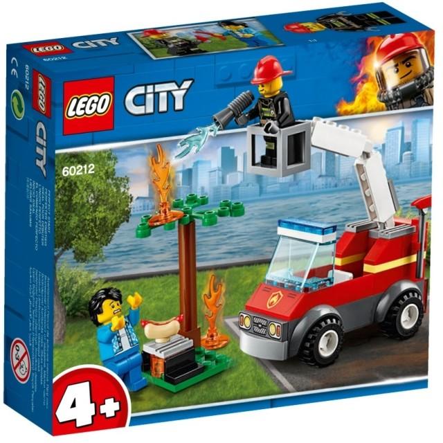 レゴ シティ 60212 バーベキューの火事