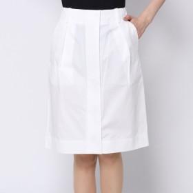 ドレステリア DRESSTERIOR ツイルスカート (ホワイト)