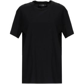 《期間限定 セール開催中》HYDROGEN レディース T シャツ ブラック XS コットン 100%