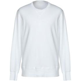 《セール開催中》DANIELE FIESOLI メンズ スウェットシャツ ホワイト L コットン 95% / ポリウレタン 5%