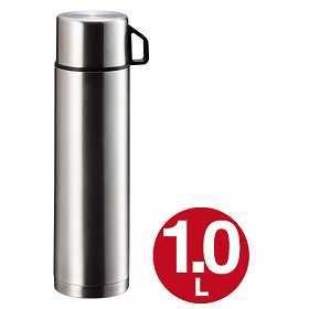 【最大1000円OFFクーポン配布中】 水筒 ステンレスボトル コップ付 1リットル スタイルベーシック