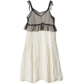 OKIRAKU レイヤードスタイルキャミドレス キャミワンピース/ベアトップワンピース,ホワイト